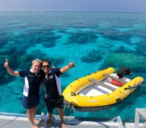 Experienced and professional staff and dive instructors