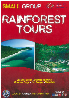 SMALL GROUP TOUR......The Daintree Rainforest, Cape Tribulation & Mossman Gorge Premium Day Tour.