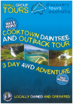 3 Day Daintree, Cooktown & Outback All Inclusive Tour
