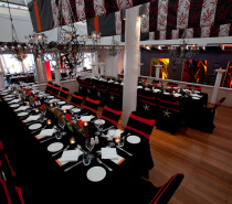 Themed private dinner at Far Horizons
