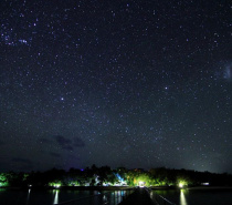 Green Island Night Sky