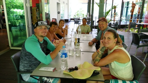 Ready for Lunch at Mossman Gorge Centre