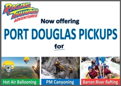 Now offering Port Douglas Pick up